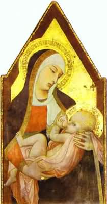 Ambrogio Lorenzetti Madonna of the Milk
