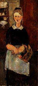 Amedeo Modigliani The Pretty Housewife