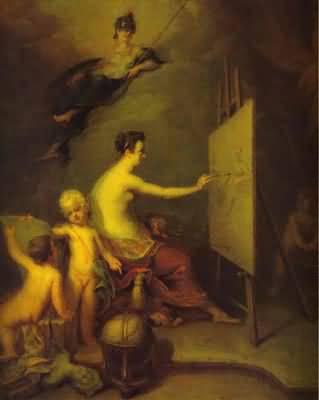 Andrey Matveev Allegory of Painting