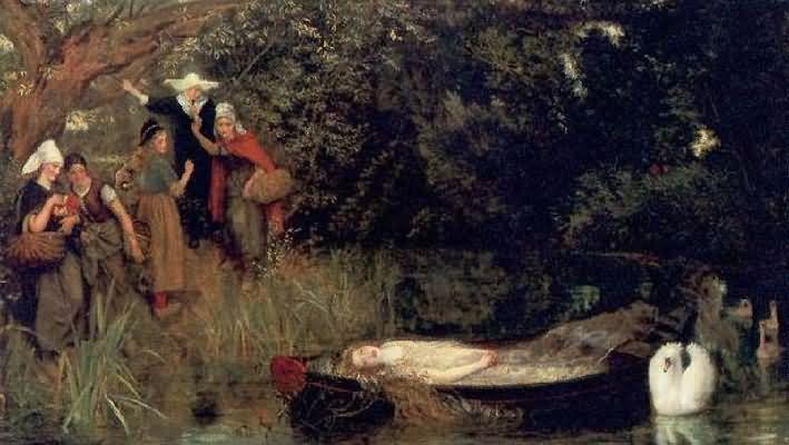 Arthur Hughes The Lady of Shalott
