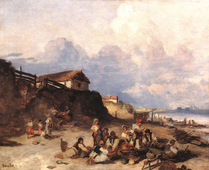 BOHM Pal Scene at the Bank of River Tisza