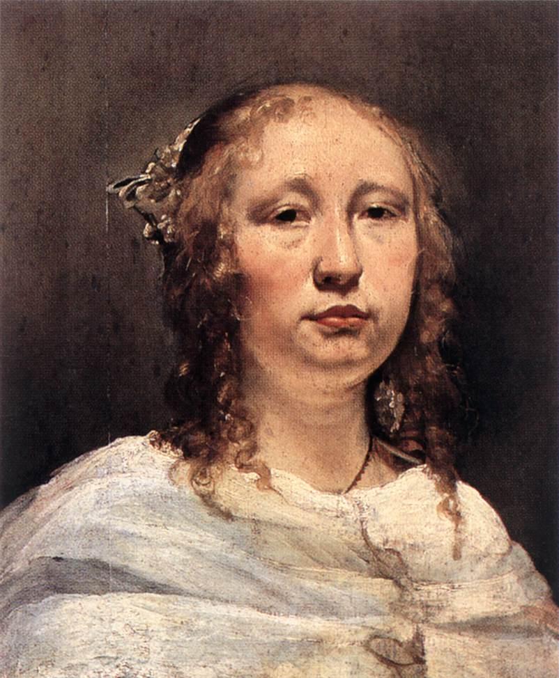 BRAY Jan de Portrait of a Young Woman
