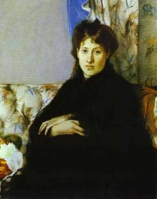 Berthe Morisot Portrait of Madame Pontillon