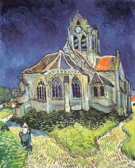 Church At Auvers-sur-oise - Vincent Van Gogh