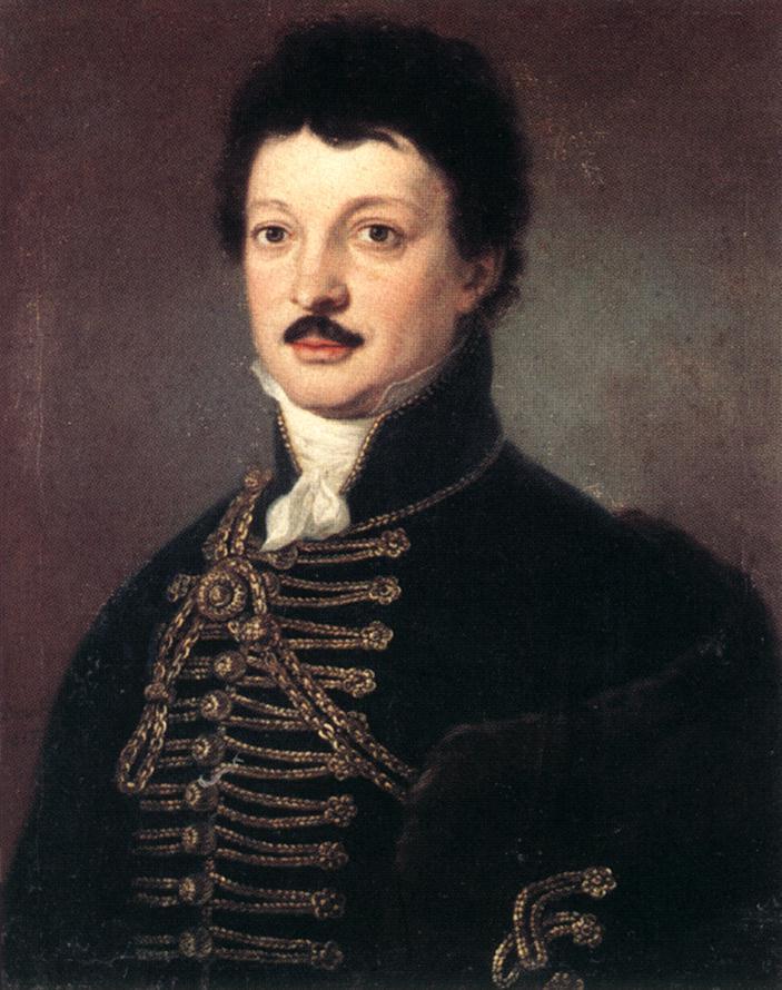 DONAT Janos Portrait of Poet Daniel Berzsenyi