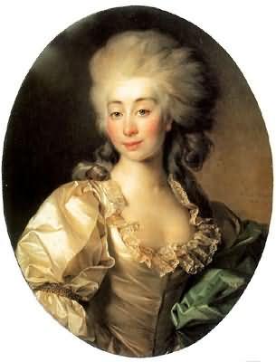 Dmitry Levitsky Portrait of Duchess Ursula Mniszek