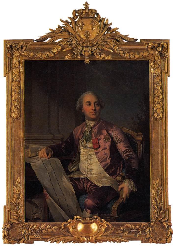 Duplessis Joseph Siffrein Portrait of the Comte d Angiviller