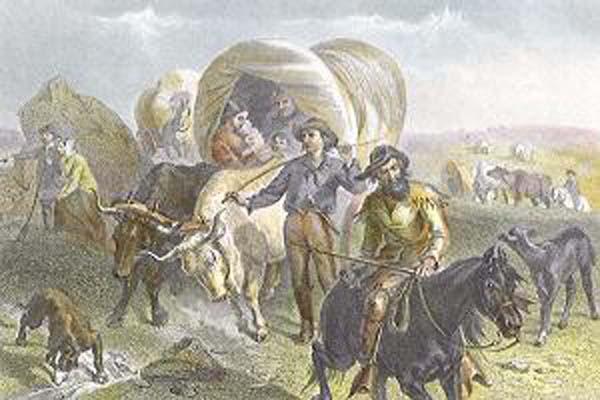 Felix Octavius Carr Darley Emigrants Crossing the Plains