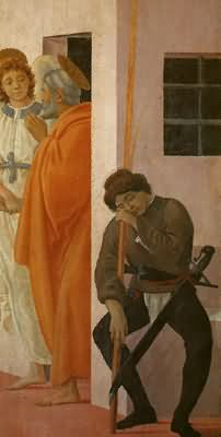 Filippino Lippi St Peter Freed from Prison