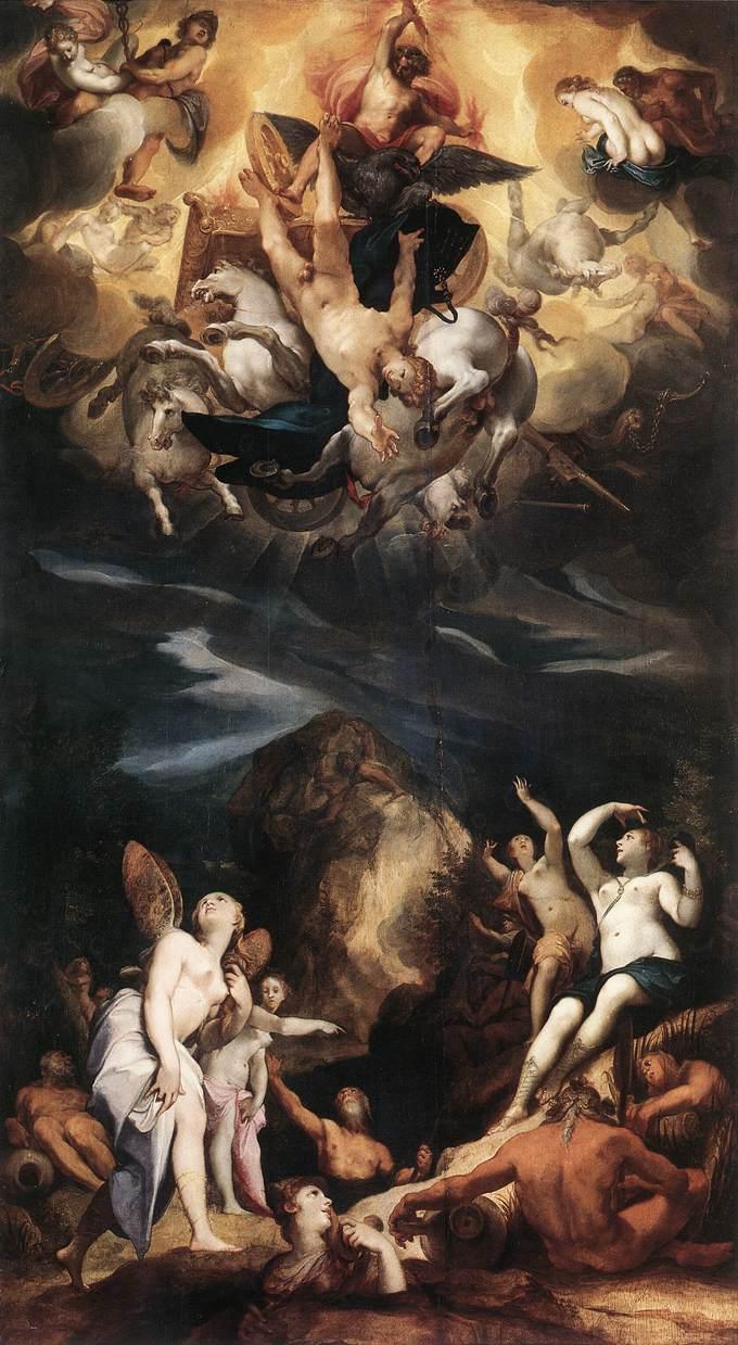 HEINTZ Joseph the Elder The Fall of Phaeton