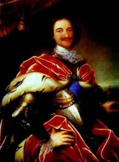 Ivan Nikitin Portrait of Peter the Great