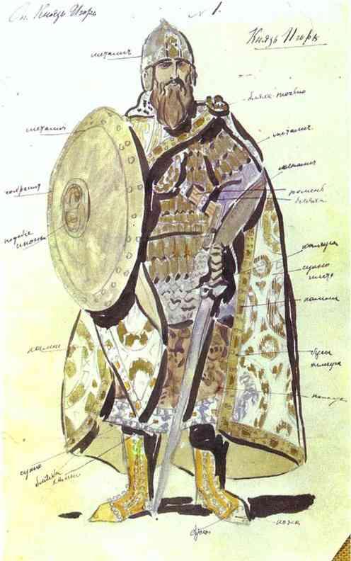 Korovin Constantin Prince Igor