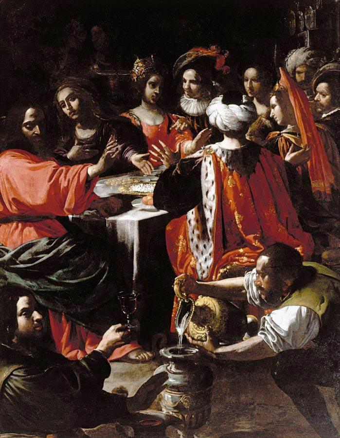 MANETTI Rutilio Wedding Feast at Cana