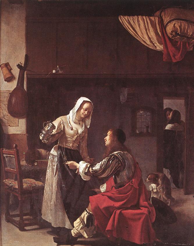 MIERIS Frans van the Elder Brothel Scene