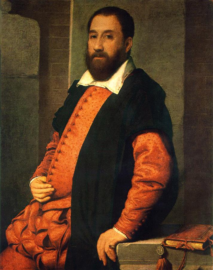 MORONI Giovanni Battista Portrait of Jacopo Foscarini