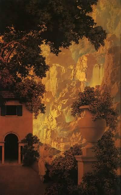 Maxfield Parrish Sunrise