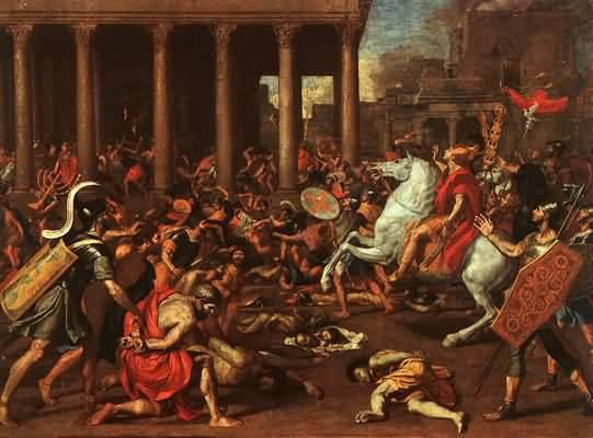 Nicolas Poussin The Conquest of Jerusalem
