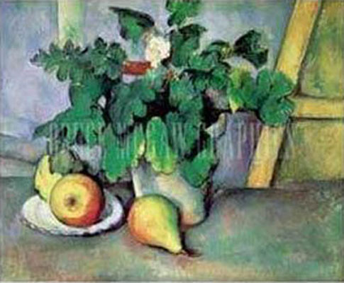 Paul Cezanne Pot of Flowers And - 44.0KB