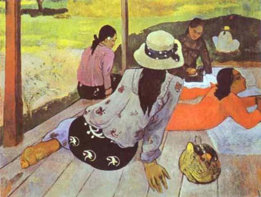 Paul Gauguin Siesta