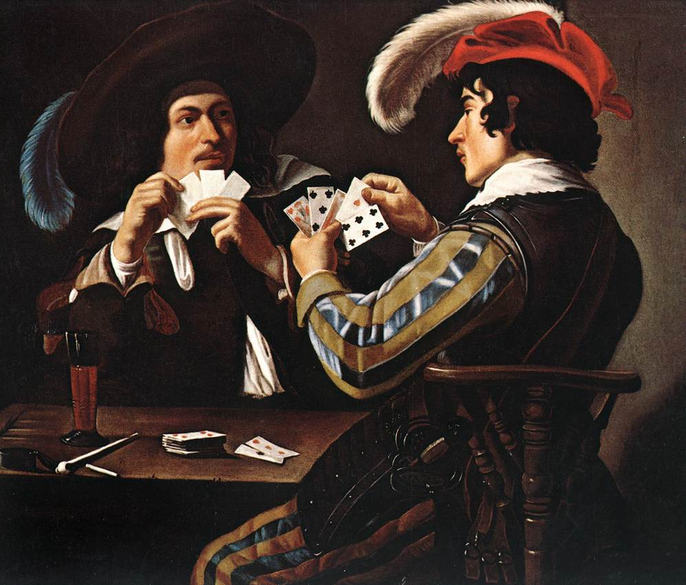 ROMBOUTS Theodor The Card Players 2