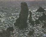 Rocks at Belle Isle - Claude Monet