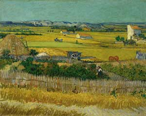 The Harvest, Arles 1888 - Vincent Van Gogh