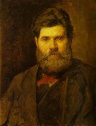 Vasily Perov Portrait of the Sculptor Vladimir Brovsky