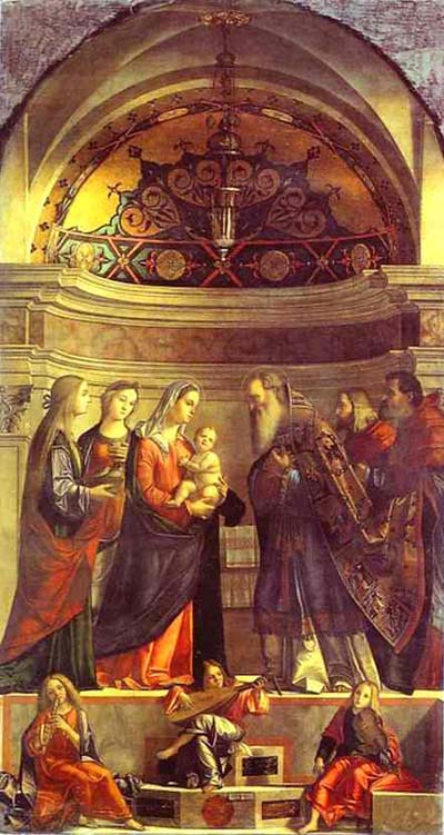 Vittore Carpaccio Presentation in the Temple