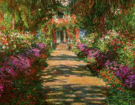 Main Path through the Garden at Giverny (detail)