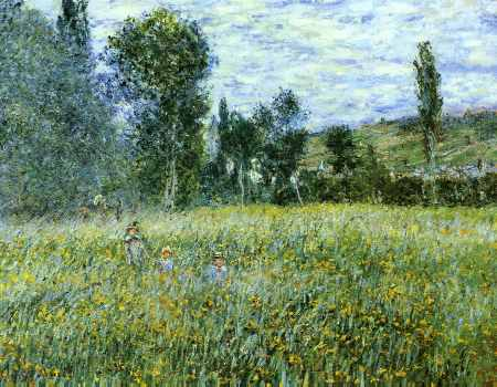 A Meadow Outside Vetheuil