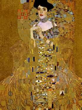 Adele Bloch-Bauer I (detail)
