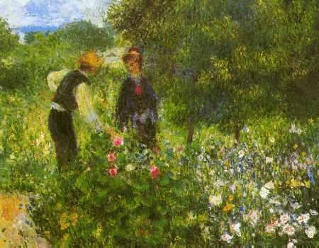 Conversation with the Gardener