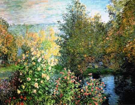Corner of a Garden at Montgeron 1876