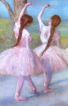 Dancers in Pink