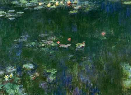 Green Reflections II (center detail)