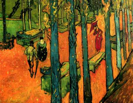 Les Alyscamps, Avenue at Arles