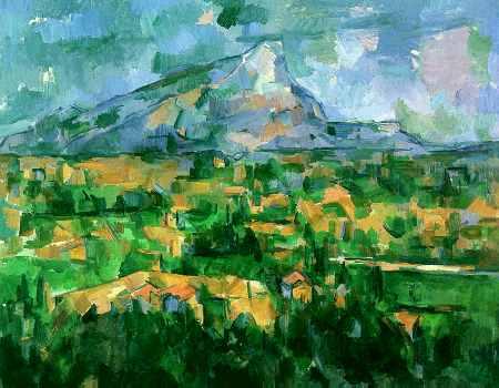 Mont Sainte-Victoire 1904