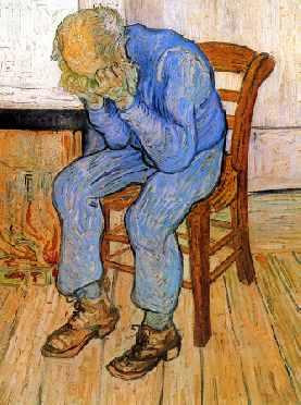 Old Man in Sorrow