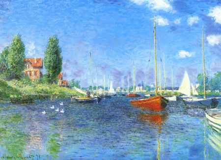 Red Boats, Argenteuil 1875