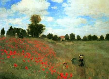 Red Poppies at Argenteuil