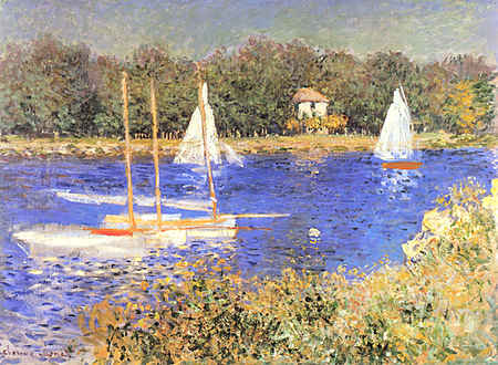Sailboats at the Basin at Argenteuil