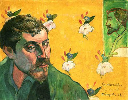Self Portrait Dedicated to Vincent van Gogh