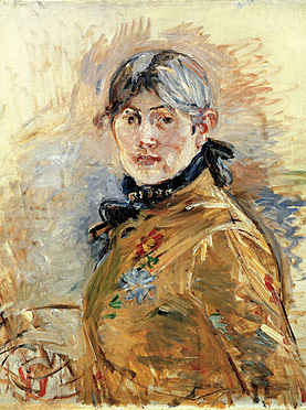 Self Portrait by Berthe Morisot