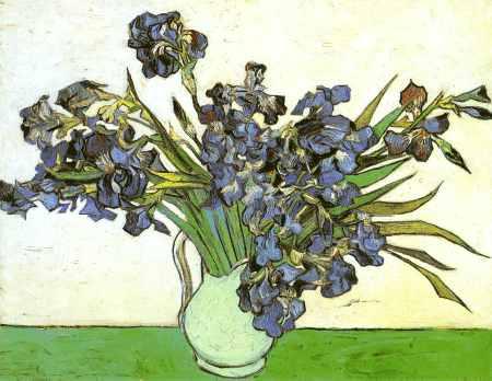 Still Life: Vase with Irises