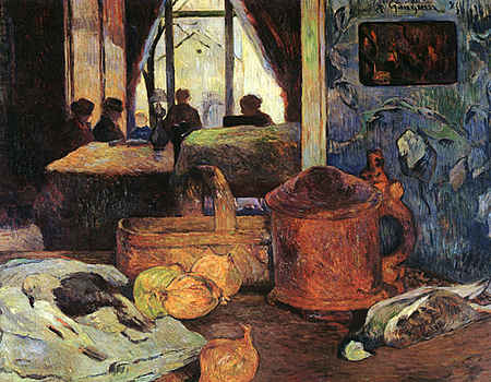 Still Life in an Interior