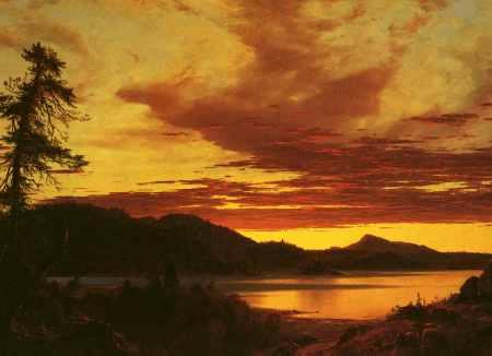 Sunset (detail)