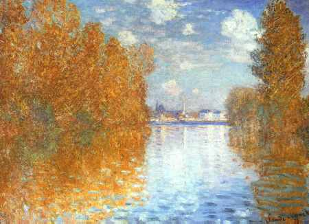 The Seine at Argenteuil, Autumn Effect