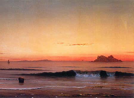 Twilight, Singing Beach (detail)
