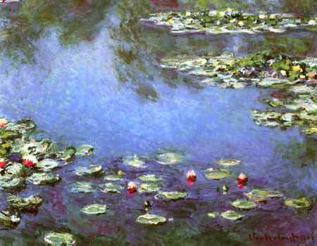 Water Lilies 1906 (detail)