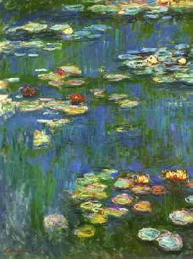Water Lilies 1916 (portrait detail)